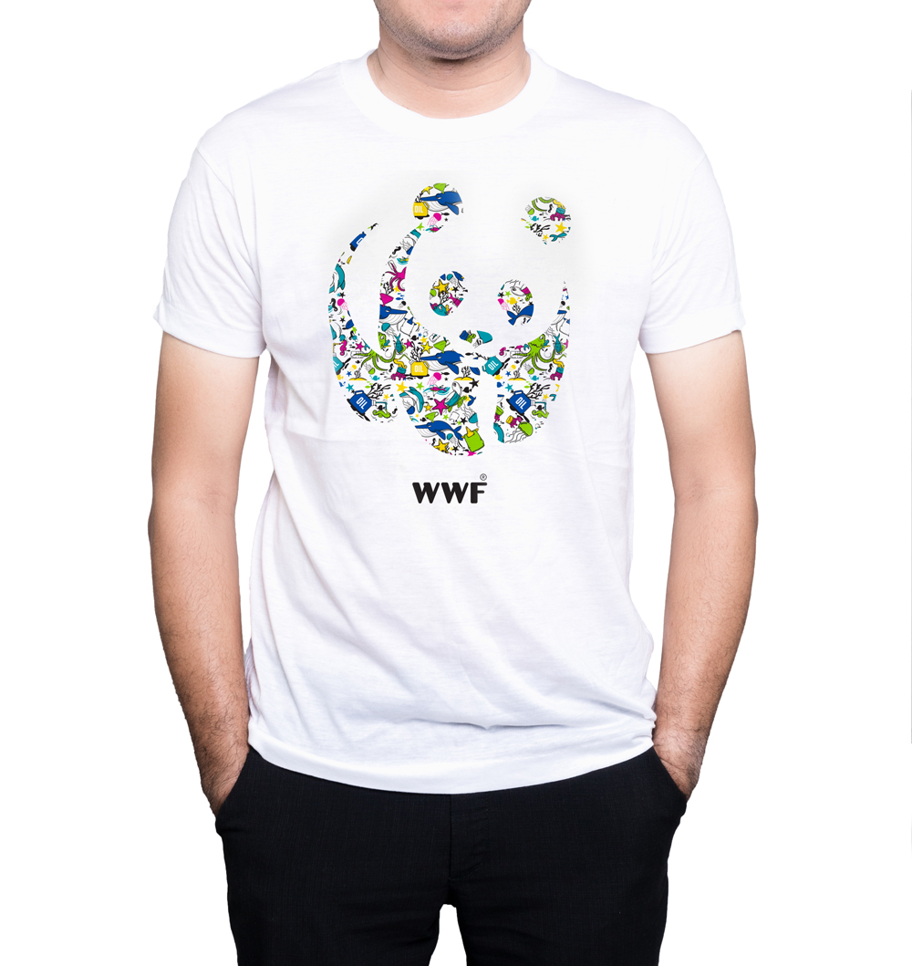 T-shirt Stop Plastic Pollution - Panda